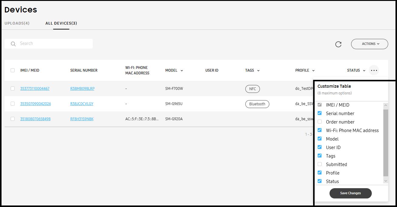 Configure devices| Knox Mobile Enrollment