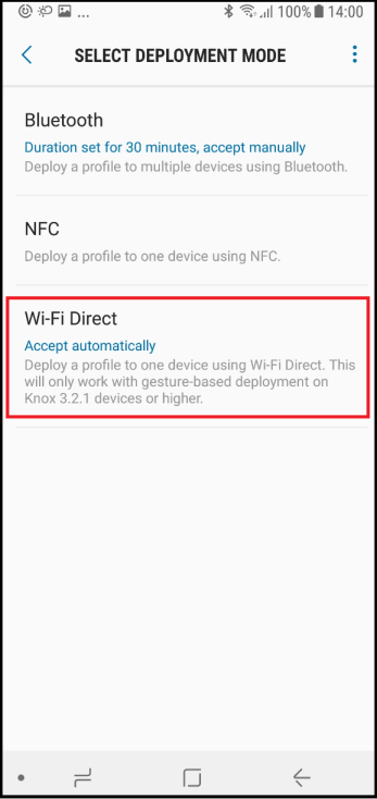 About the Knox Deployment App | Samsung Knox