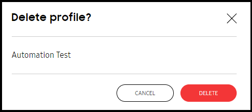 Create profiles | Knox Mobile Enrollment