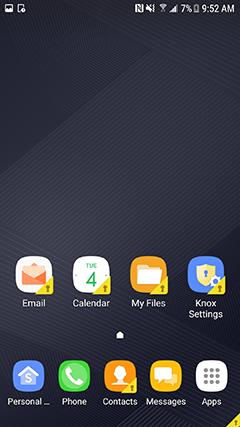 Set up Knox | Samsung Knox Workspace