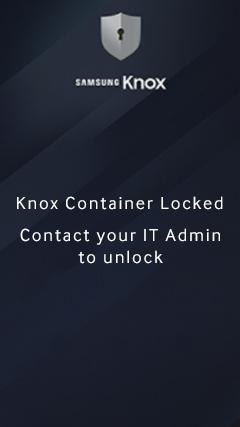 Remote Lock Workpace | Knox Platform for Enterprise Admin Guide