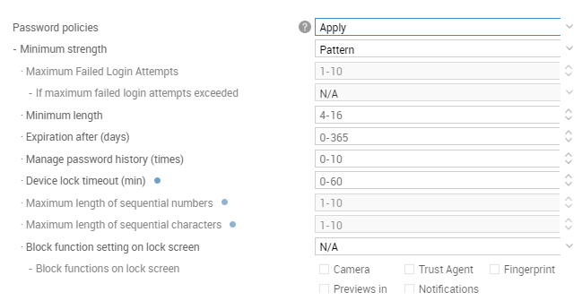 Erase Data | Knox Platform for Enterprise Admin Guide