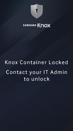 Troubleshoot Knox issues | Samsung Knox Workspace